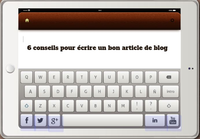 Comment rédiger un bon article web